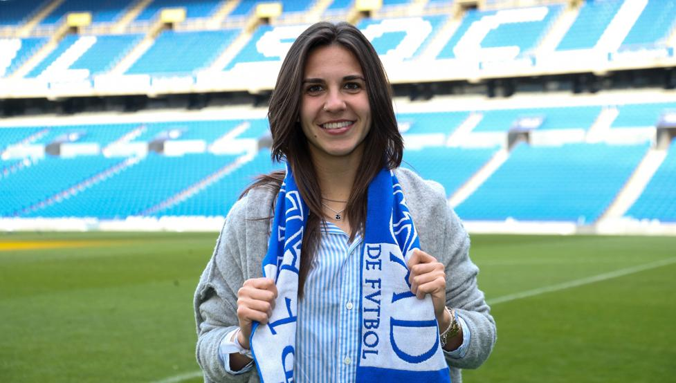 """Marta Cardona: """"Sería injusto que la temporada terminase ahora, hay equipos que juegan por titulos, ascensos y descensos""""."""