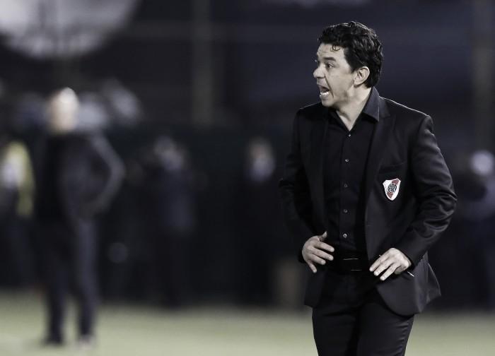 """Gallardo: """"A Estudiantes se le va a hacer difícil ganarnos"""""""