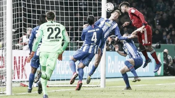 Bayern de Munique vence Hertha Berlin na prorrogação e avança às quartas da Copa da Alemanha