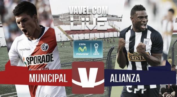 Resultado Deportivo Municipal - Alianza Lima en Torneo Clausura 2015 (2-1)
