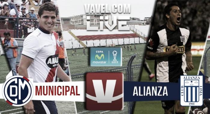 Resultado Deportivo Municipal - Alianza Lima en Torneo Apertura (1-2)