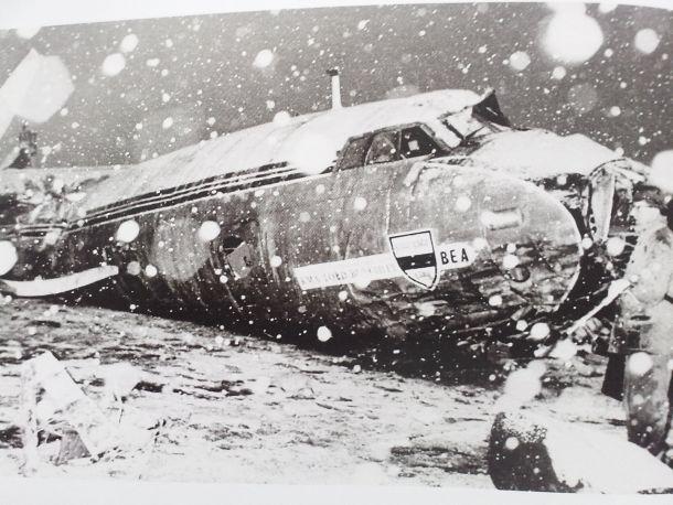 Munich Remembered: A broken plane, a broken dream, a broken heart