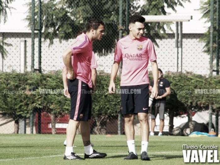 Entreno con Messi
