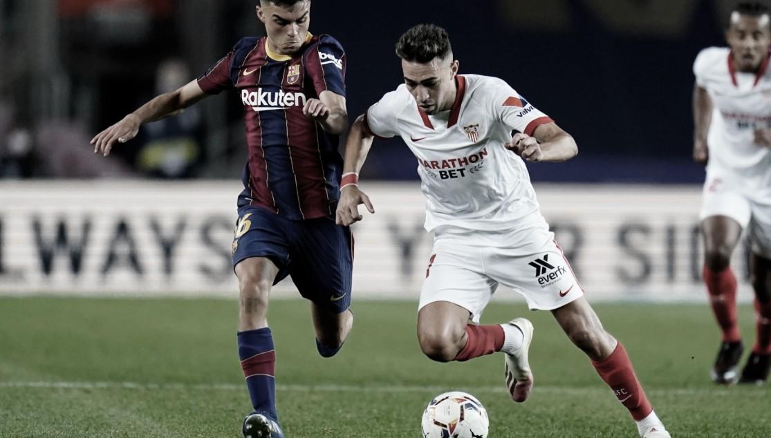 Previa Sevilla - Barcelona: seguir sumando de tres
