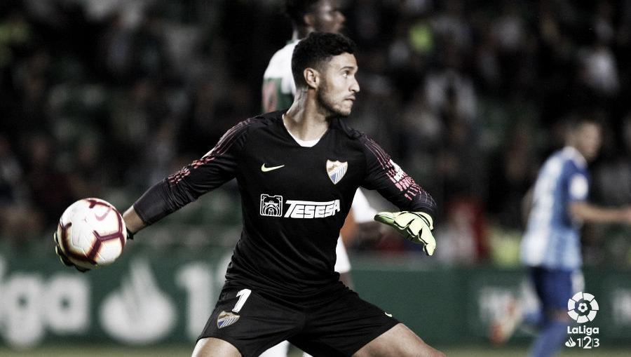 Munir: MVP del partido Málaga - Deportivo