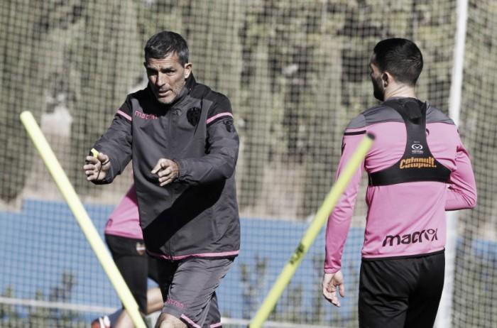 El Levante vuelve al trabajo tras la derrota ante el Athletic