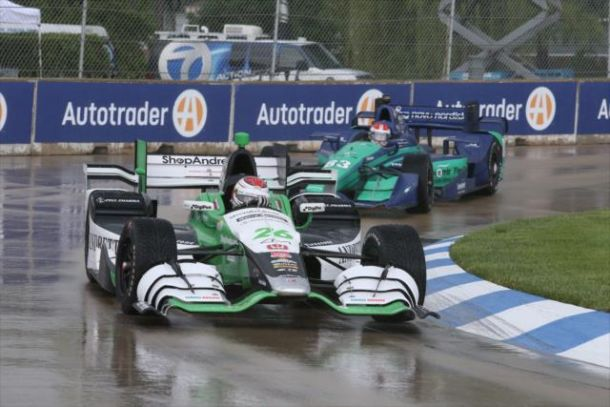 IndyCar: Munoz Wins Shortened Race 1
