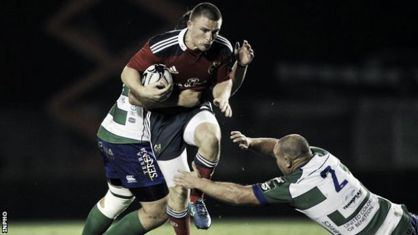 Munster overcome Treviso test