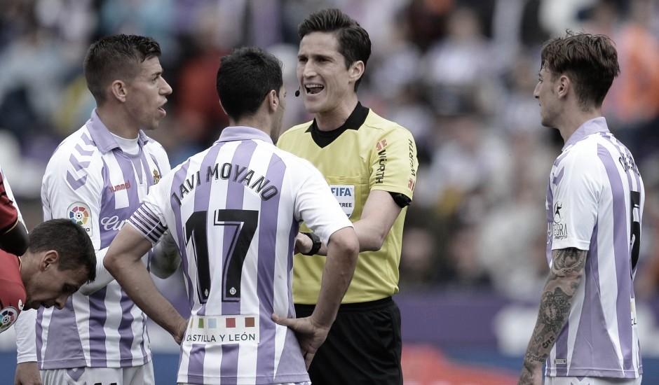 Munuera Montero arbitrará el primer partido de la temporada en Zorrilla