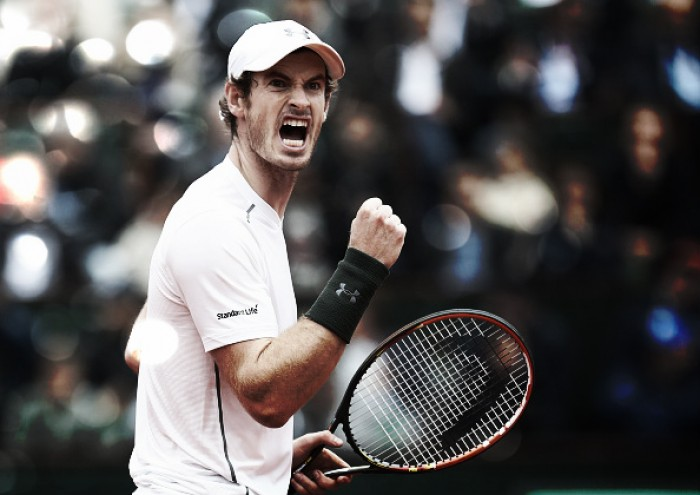 French Open 2016: Murray beats Gasquet in four to book semi-final place at Roland Garros