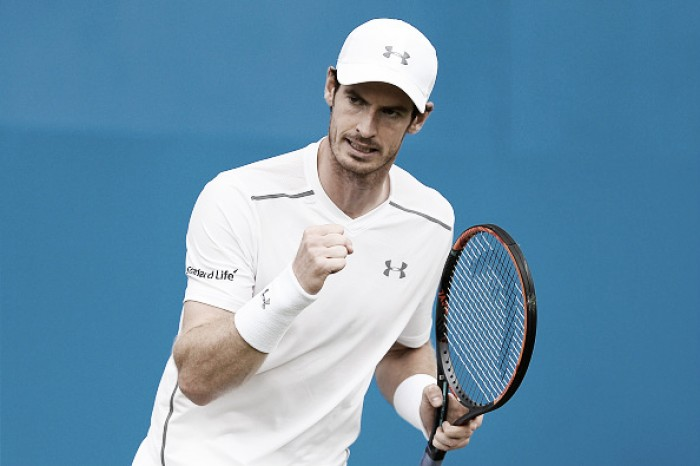 Andy Murray bate Bedene e está nas quartas de final em Queen's