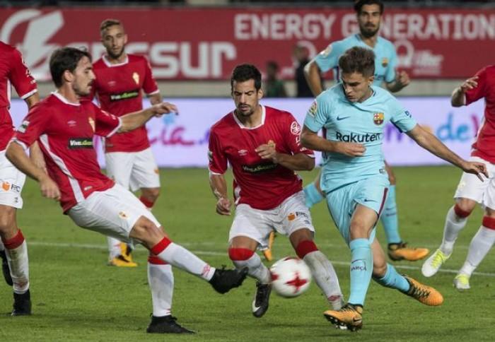 FC Barcelona - Real Murcia: a rematar la faena