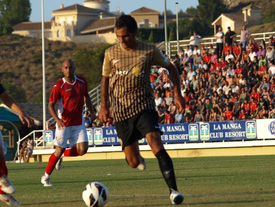 El Almería golea al Murcia en un nuevo amistoso