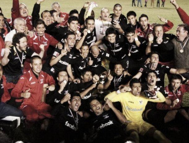Murciélagos FC se proclamó campeón copero