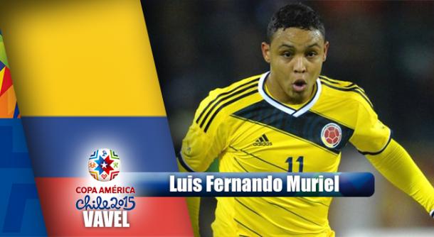 Camino a Chile 2015: Luis Fernando Muriel