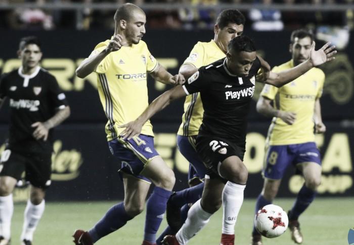 Previa Sevilla FC - Cádiz CF: a un paso de cuartos