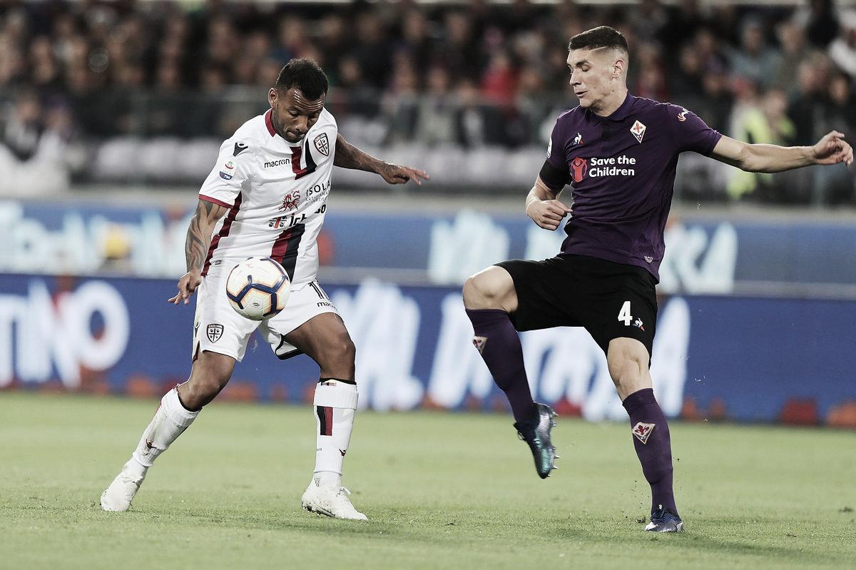 Serie A: il Cagliari ferma sul pari la Fiorentina