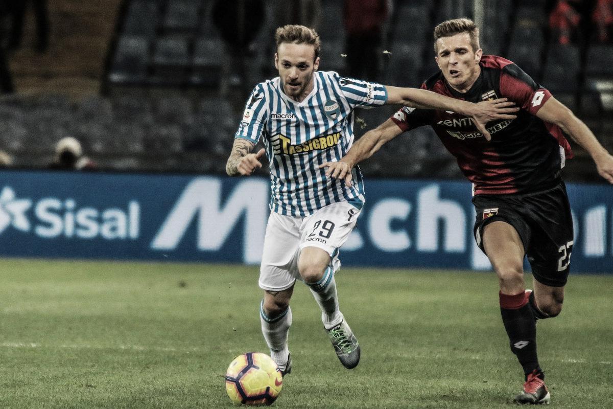 Serie A: pari e rimpianti tra Genoa e Spal