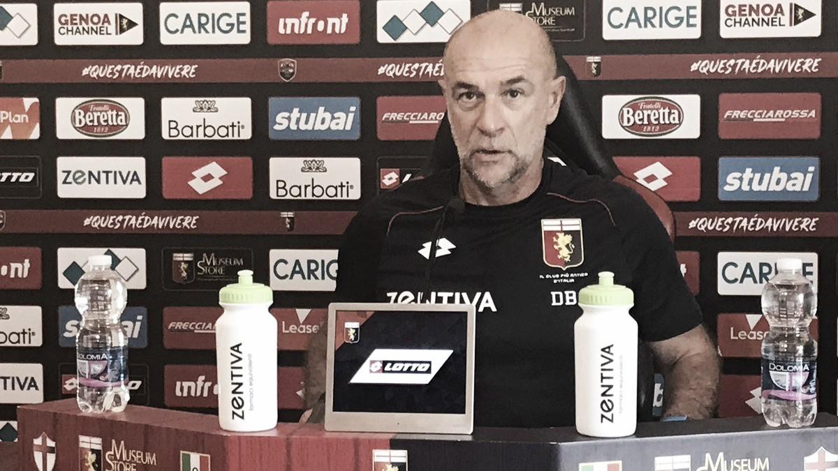 Genoa: Ballardini presenta il match di Coppa Italia con il Benevento
