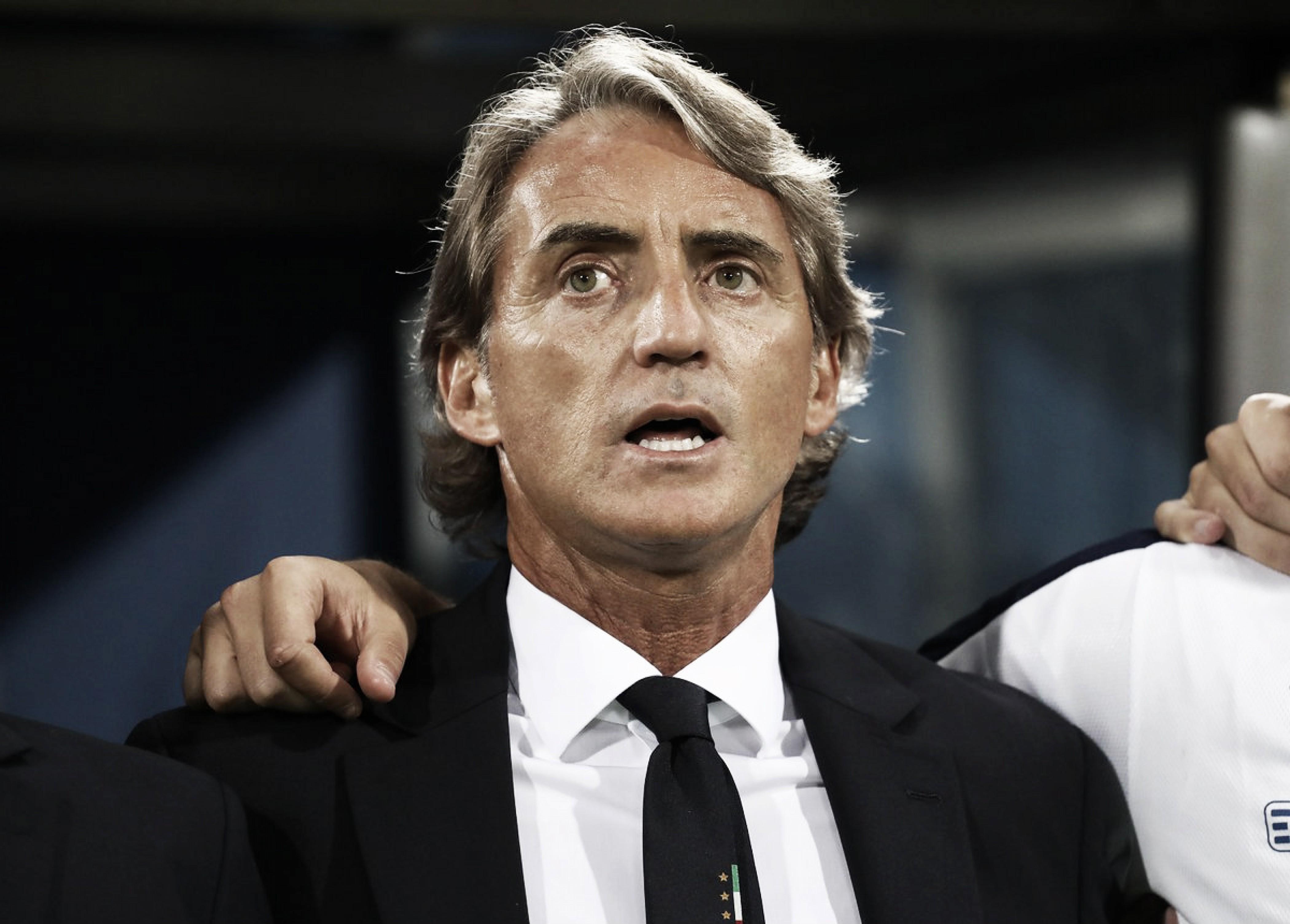 """Nations League, Mancini: """"Commettiamo molti errori, ma è difficile fare meglio"""""""