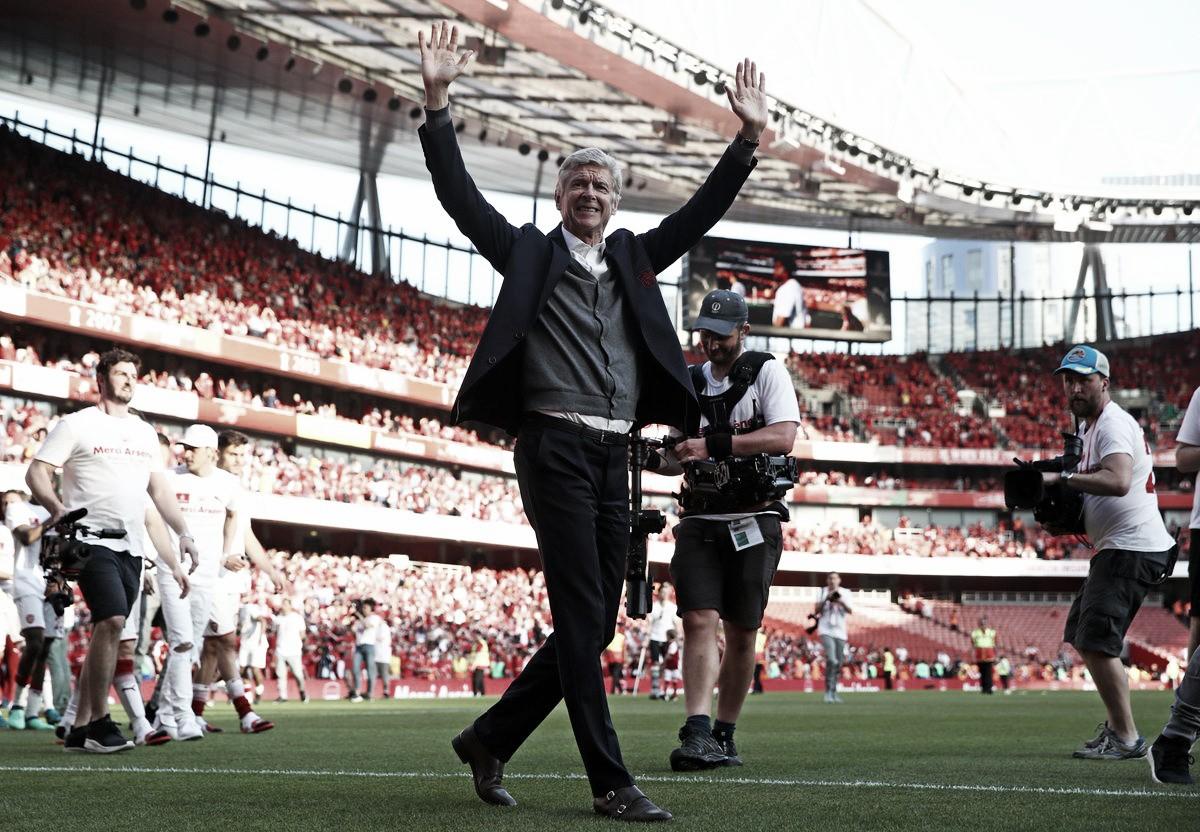Arsenal, l'ultima di Wenger all'Emirates Stadium: ecco l'omaggio del popolo Gunners