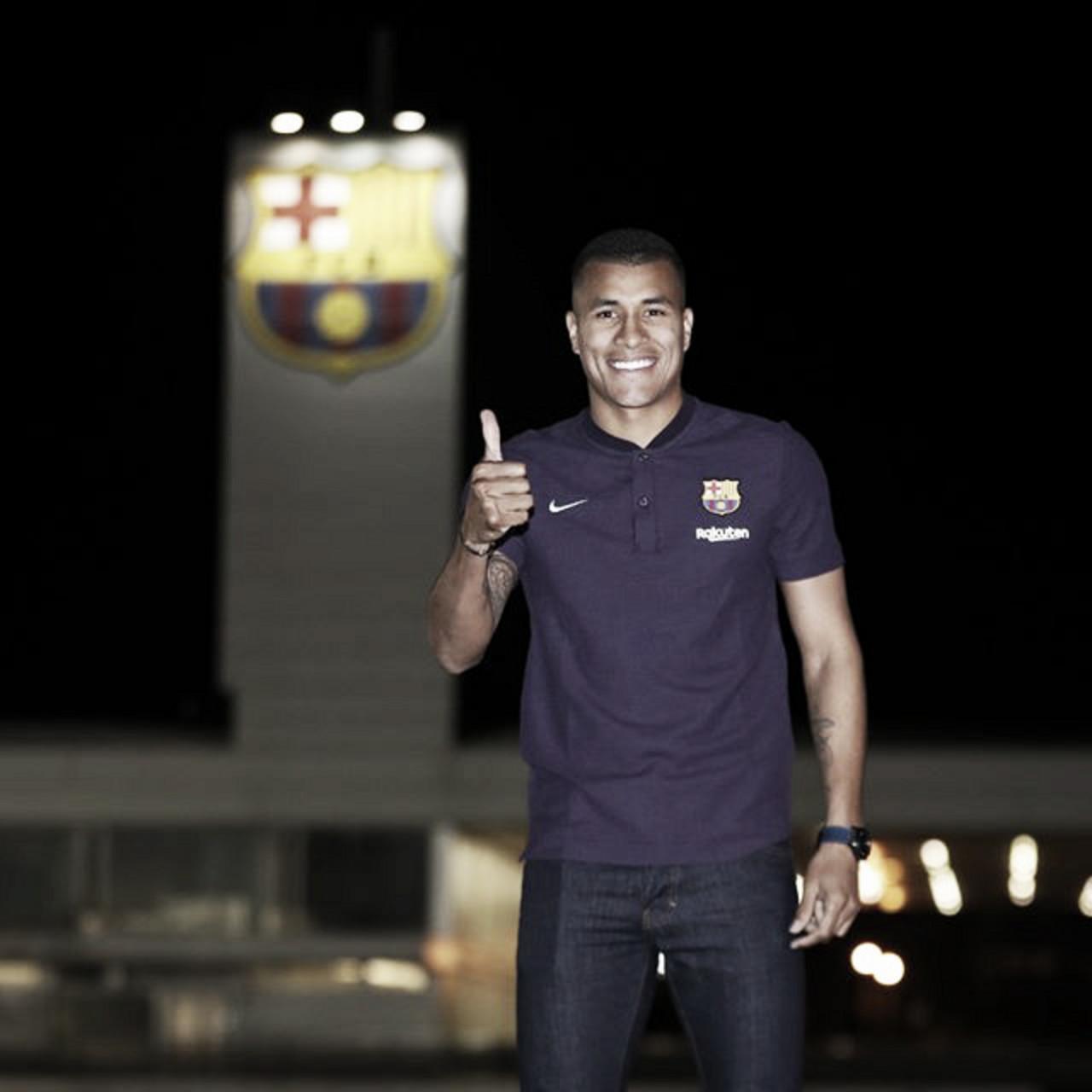 Barcelona confirma contratação do zagueiro Jeison Murillo, ex-Valencia