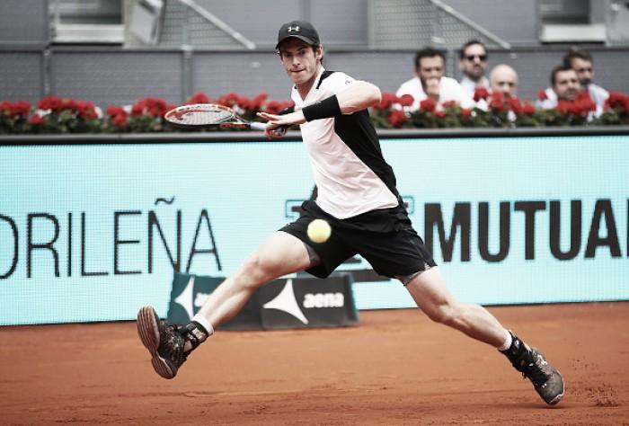Andy Murray bate Simon com facilidade e está nas quartas em Madri
