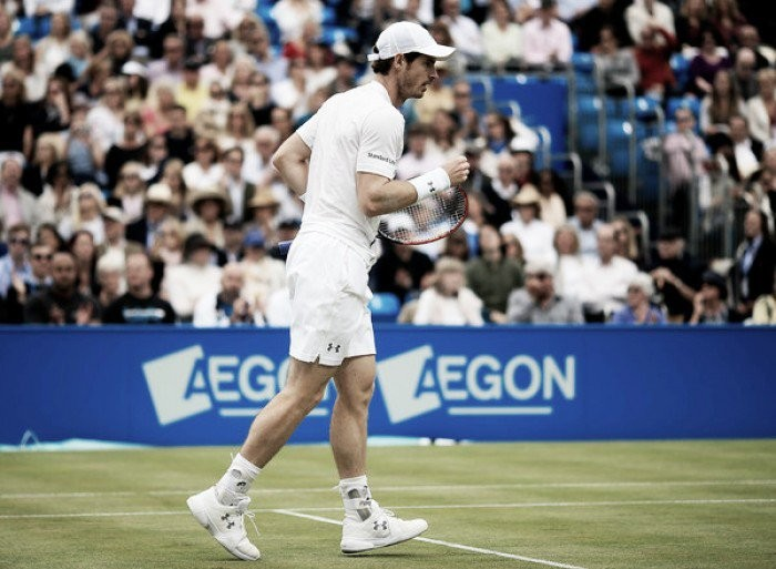 Risulato Atp Queen's 2016, Andy Murray batte Milos Raonic 2-1 in rimonta