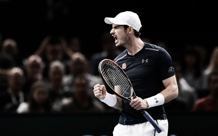 ATP Paris: Andy Murray closes in on the number one ranking with a battling win over Tomas Berdych