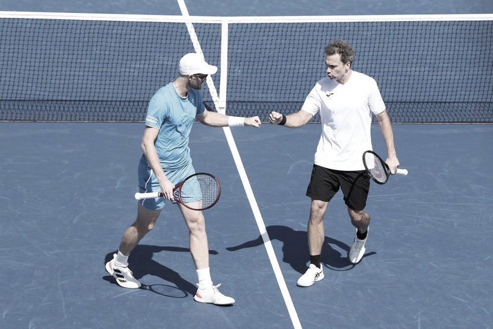 De virada, Murray/Soares eliminam Granollers/Zeballos no US Open 2021