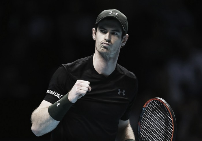 ATP World Tour Finals: Andy Murray secures group's top spot with a win over Stan Wawrinka