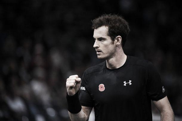 Murray bate Goffin com facilidade e avança ás quartas do Masters 1.000 de Paris