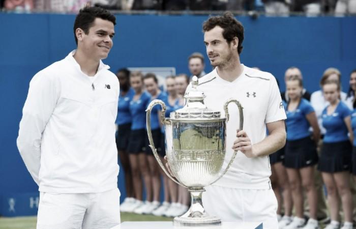 É penta! Murray bate Raonic de virada e conquista o ATP 500 de Queen's pela quinta vez