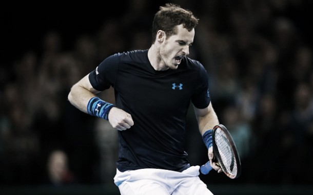 Murray plasma su superioridad