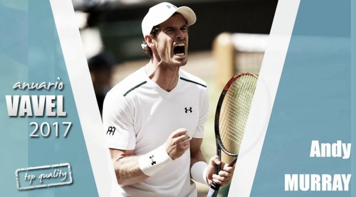Anuario VAVEL 2017. Andy Murray: todo lo que sube baja