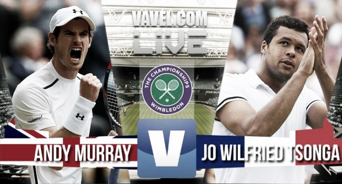 Andy Murray prevails in five-set thriller to move into Wimbledon semis - As It Happened