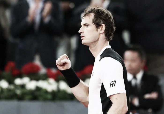 Murray vence em cima de Berdych e avança para a semifinal do Masters 1000 de Madrid