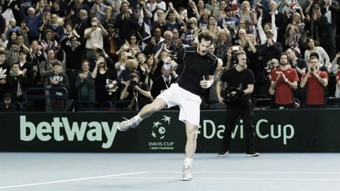 Davis Cup, Murray costretto a una maratona da Nishikori. Ok Francia, Argentina e Repubblica Ceca