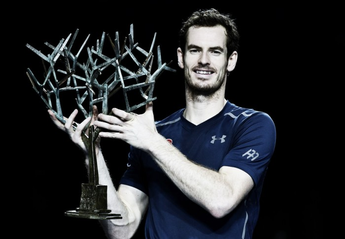 ATP Paris: Andy Murray continues year-end domination with fourth title in a row