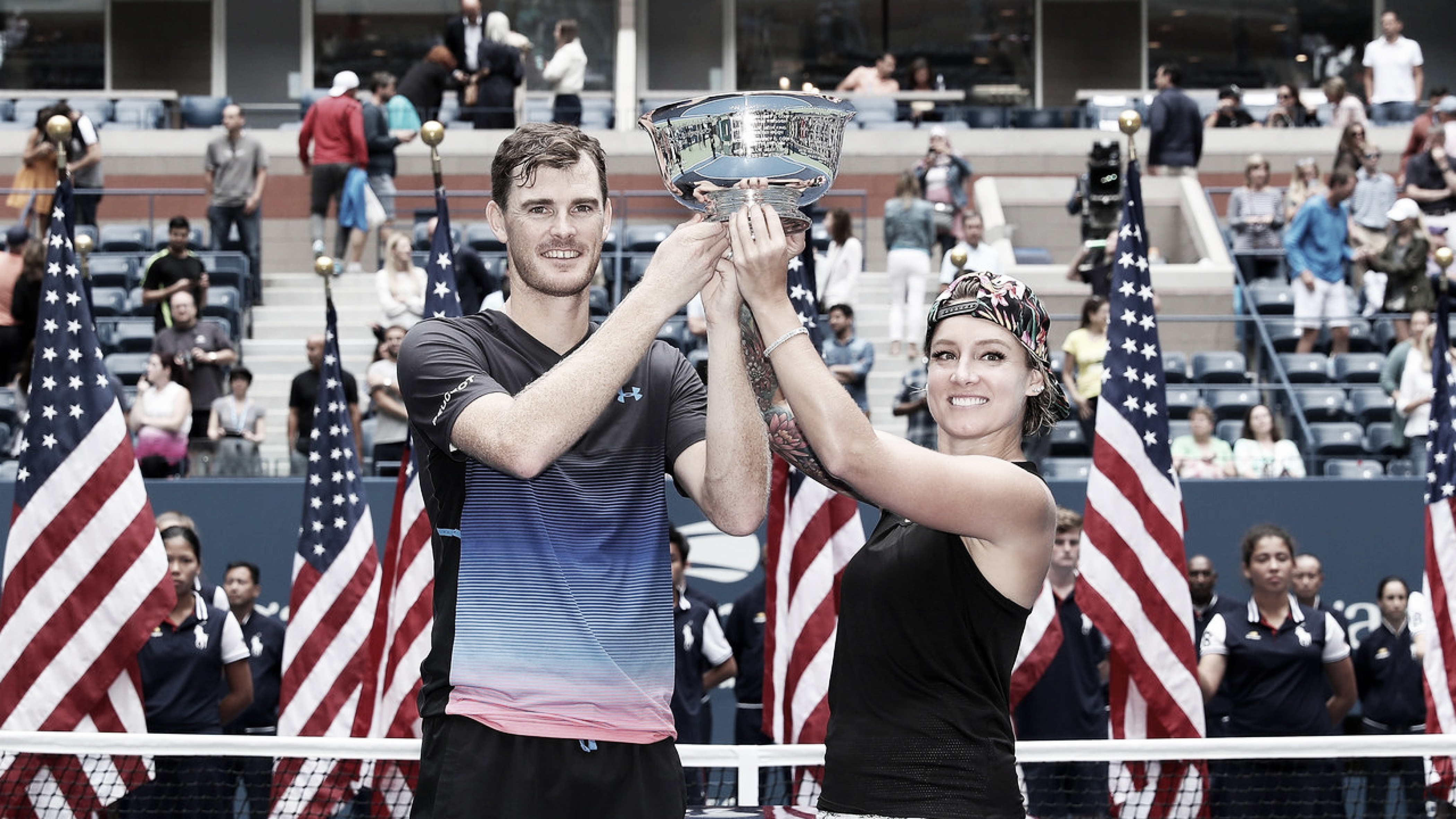 Mattek-Sands e Jamie Murray conquistam título de duplas mistas do US Open