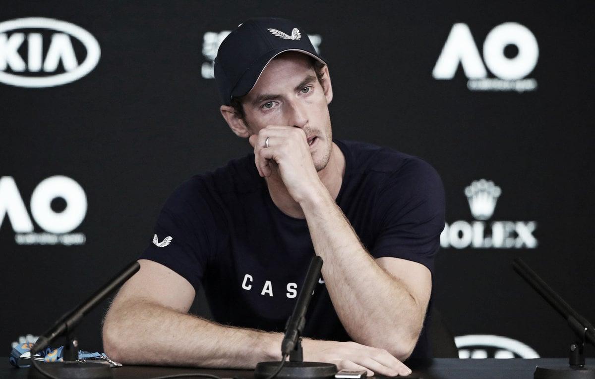 """Em lágrimas, Andy Murray anuncia aposentadoria para esta temporada: """"Estou com muita dor"""""""