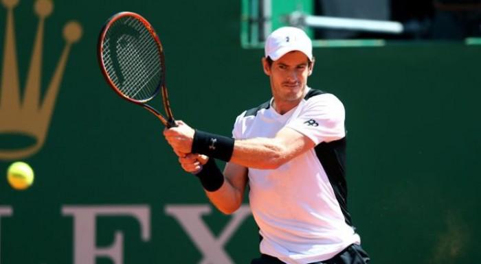 Monte-Carlo Rolex Masters 2016: bene Murray, eliminato Dimitrov