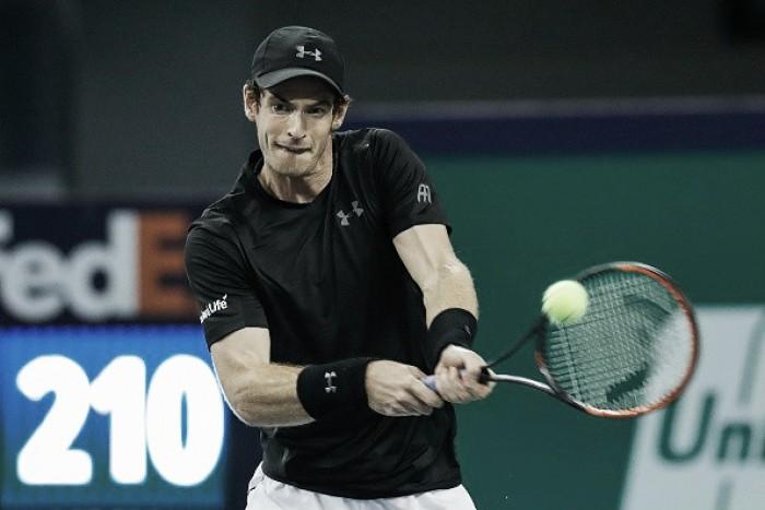 Andy Murray arrasa Goffin e avança à semifinal no Masters 1000 de Xangai