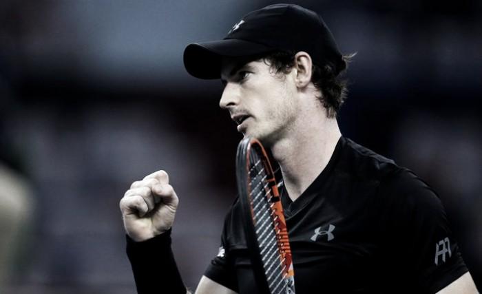 Murray domina Pouille e vai às quartas no Masters 1000 de Xangai