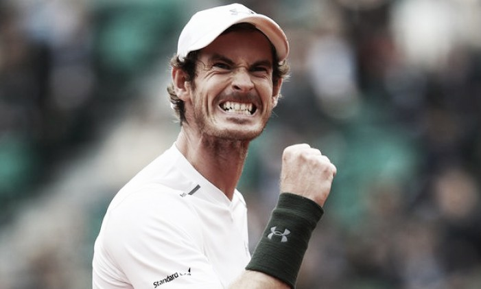 French Open 2016: Murray and Muguruza reach semis as top half lags behind