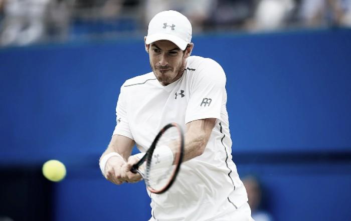 ATP 500 de Queen's: Murray vence Edmund e vai às semis; Cilic e Raonic também avançam