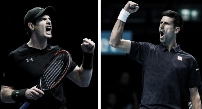Andy Murray x Novak Djokovic: a liderança do ranking mundial em jogo