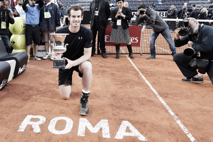 "Internazionali di Roma, Murray: ""Pronto al bis"""