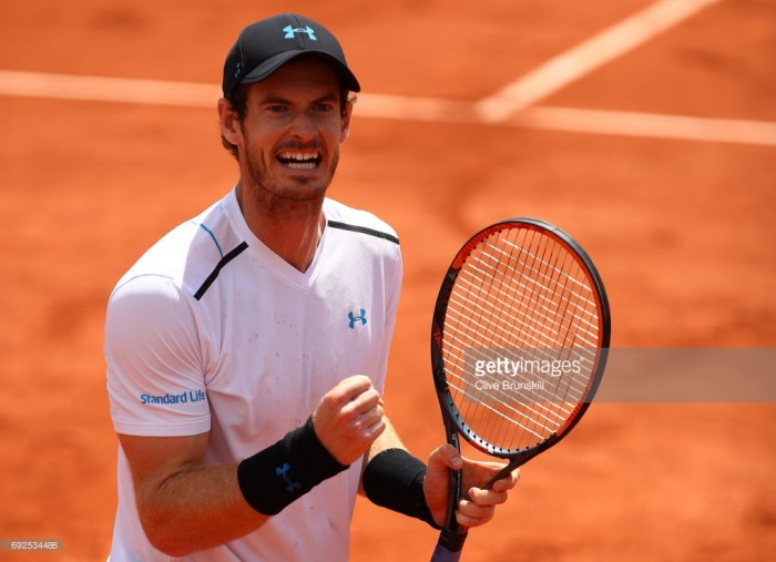 Andy Murray beats Juan Martin Del Potro to reach fourth round