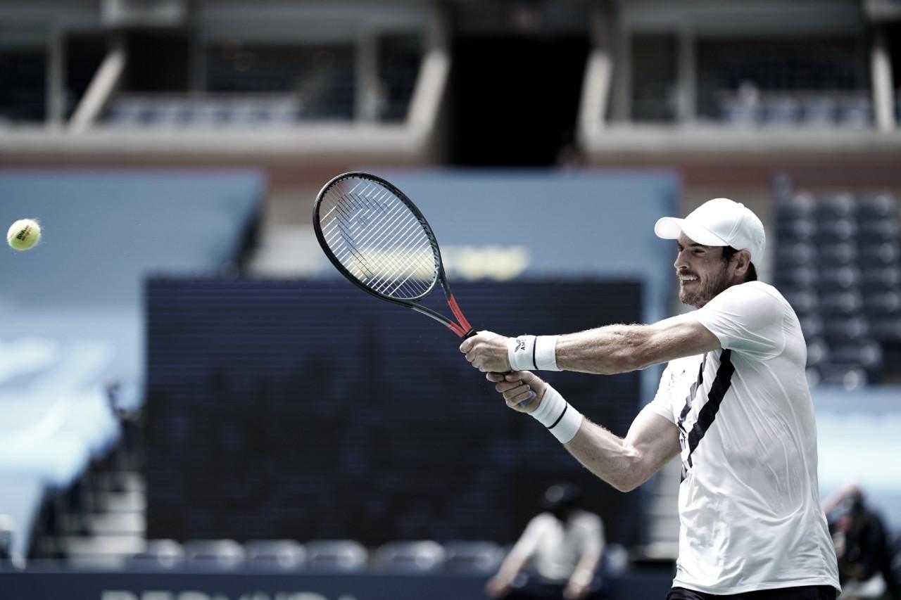 Murray salva match point e busca virada incrível contra Nishioka no US Open